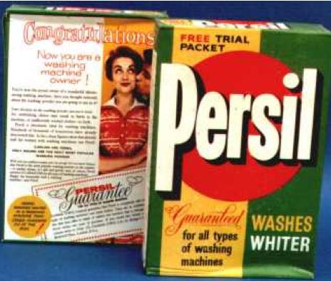 1950s packaging