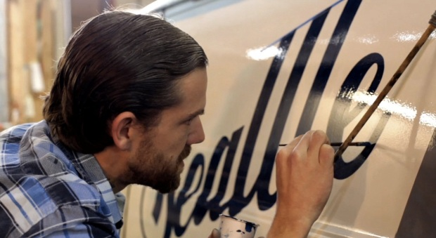 Sign Painter film (screen shot)