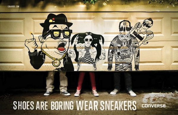Shoes Are Boring. Wear Sneakers.