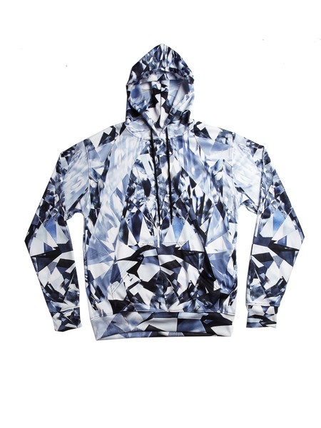 SWGNT full body print hoody